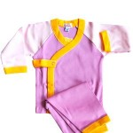 loralin design yellow_pink wrap outfit